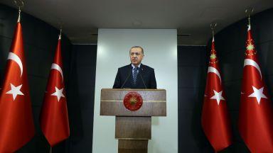 """Ердоган: Мнението на други държави няма да промени решението ни за """"Света София"""""""
