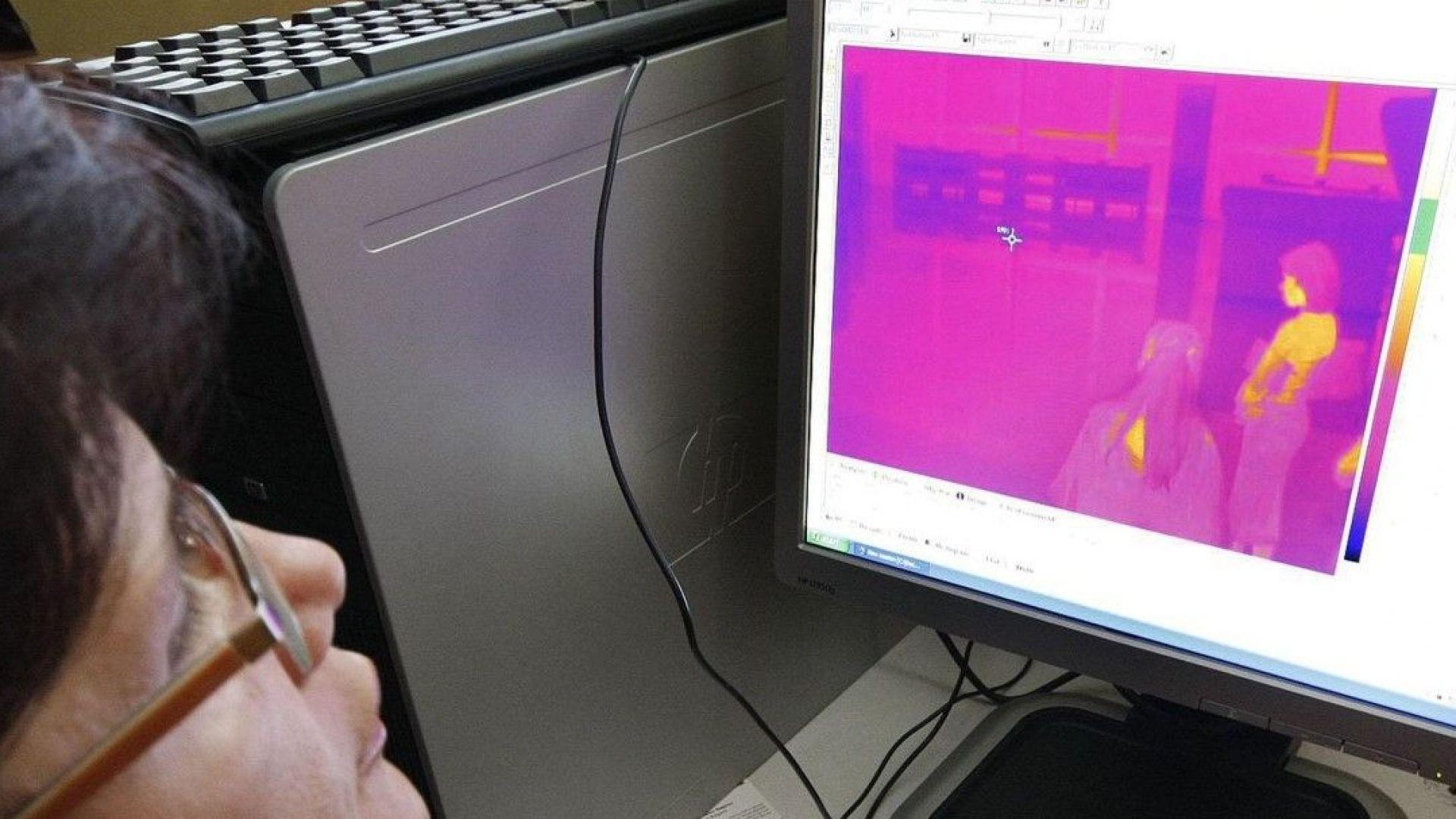 Държавните институции масово инвестират в термокамери, за да мерят телесната