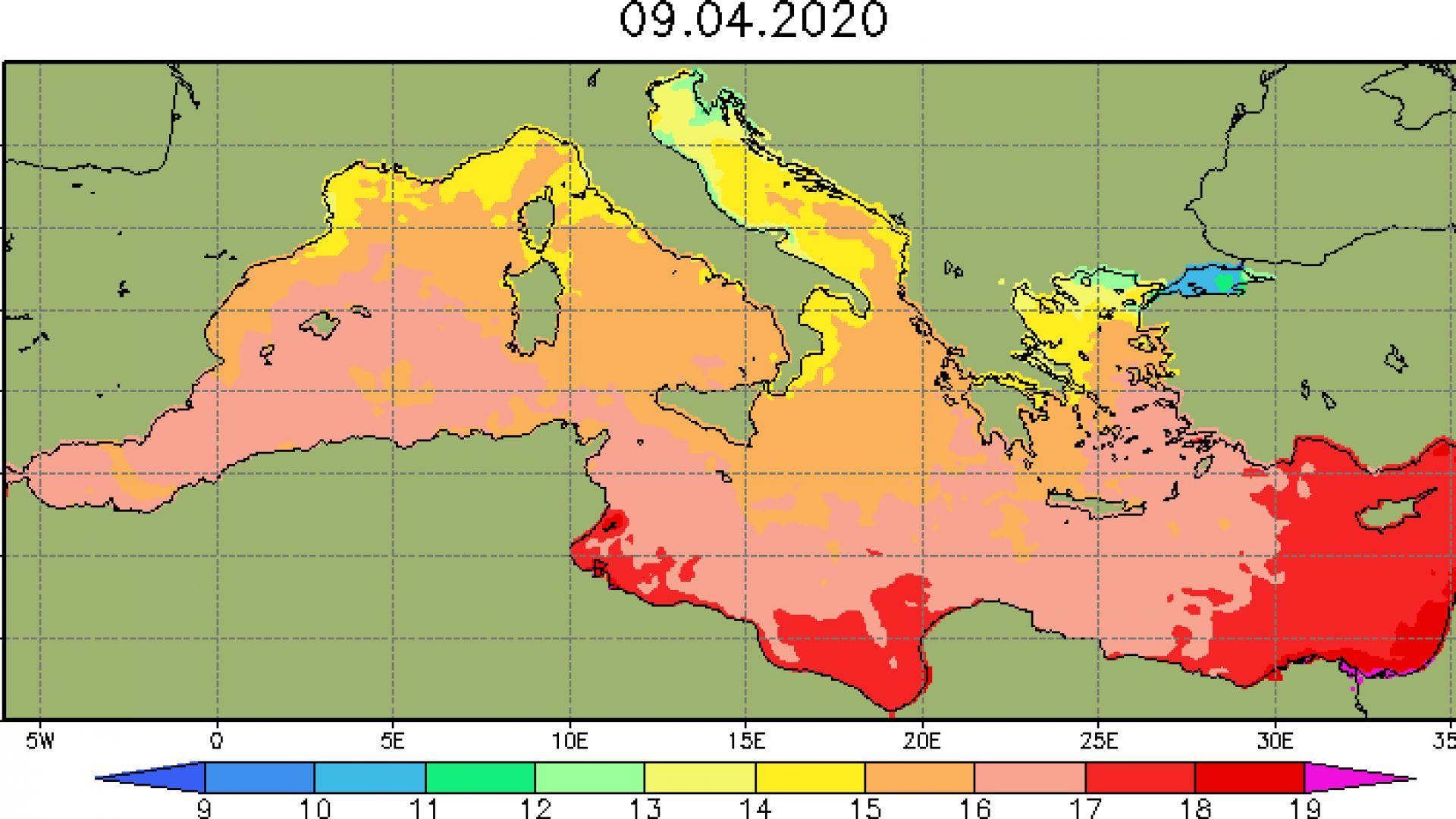 Стават ли за плаж моретата на Балканите и в Европа  в средата на април?