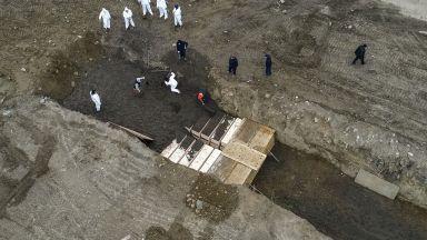 Копаят масов гроб на остров Харт в Ню Йорк (видео)
