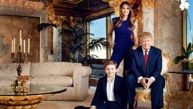 Вижте тузарския 3-етажен пентхаус на Доналд и Мелания Тръмп, струващ 100 млн. долара