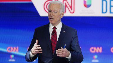 Хилъри Клинтън подкрепи Джо Байдън, той печели първичните избори в Охайо