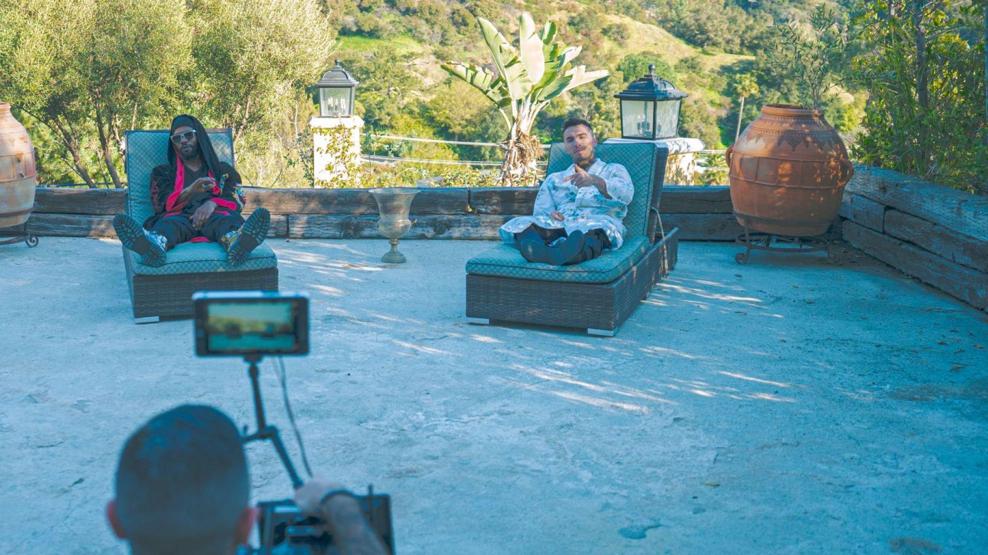 От Бевърли Хилс до София: Как легендарният американски рапър Juicy J избра българин за най-новия си хит