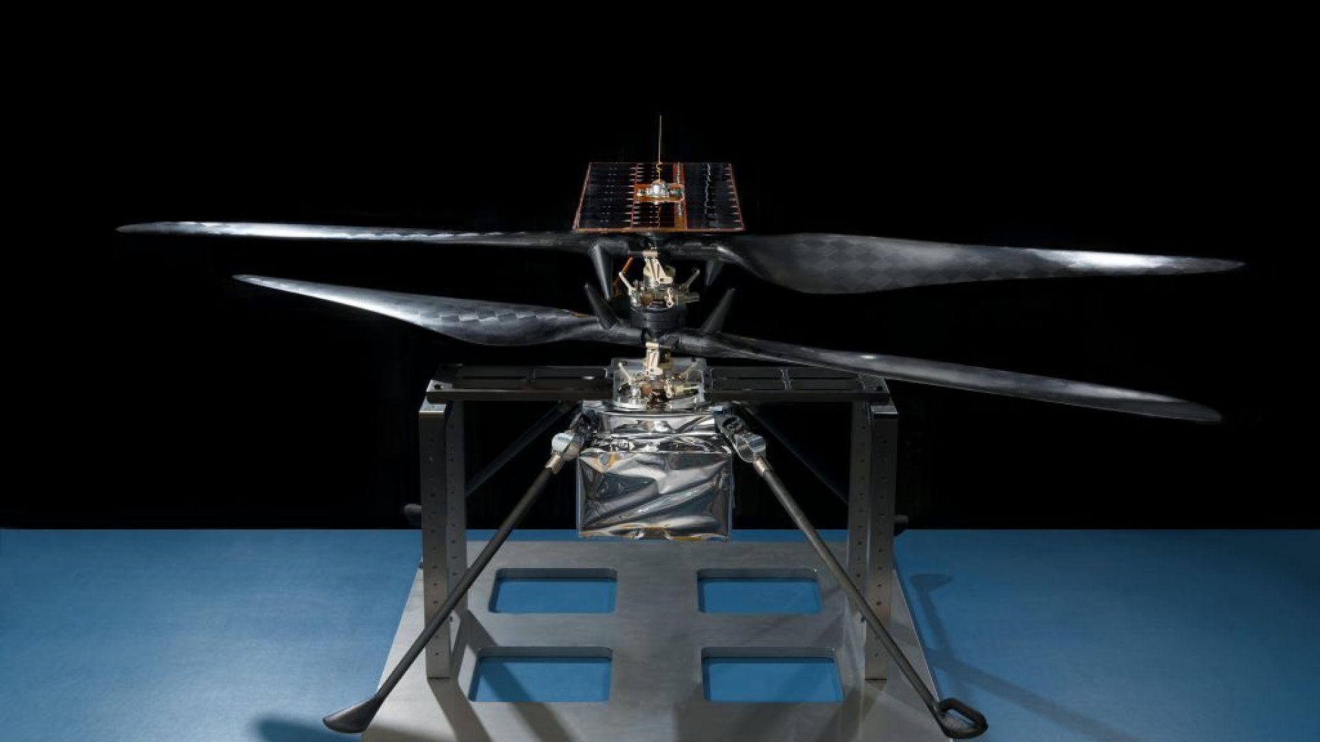 Ученичка от Алабама стана кръстница на нов хеликоптер на НАСА за Марс