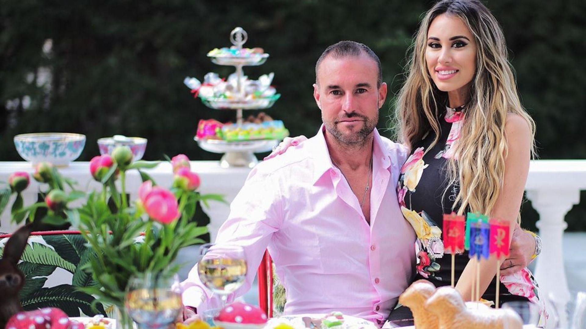 Филип Плейн и половинката му Лучия с приказен Великден заедно със семейството на дизайнера
