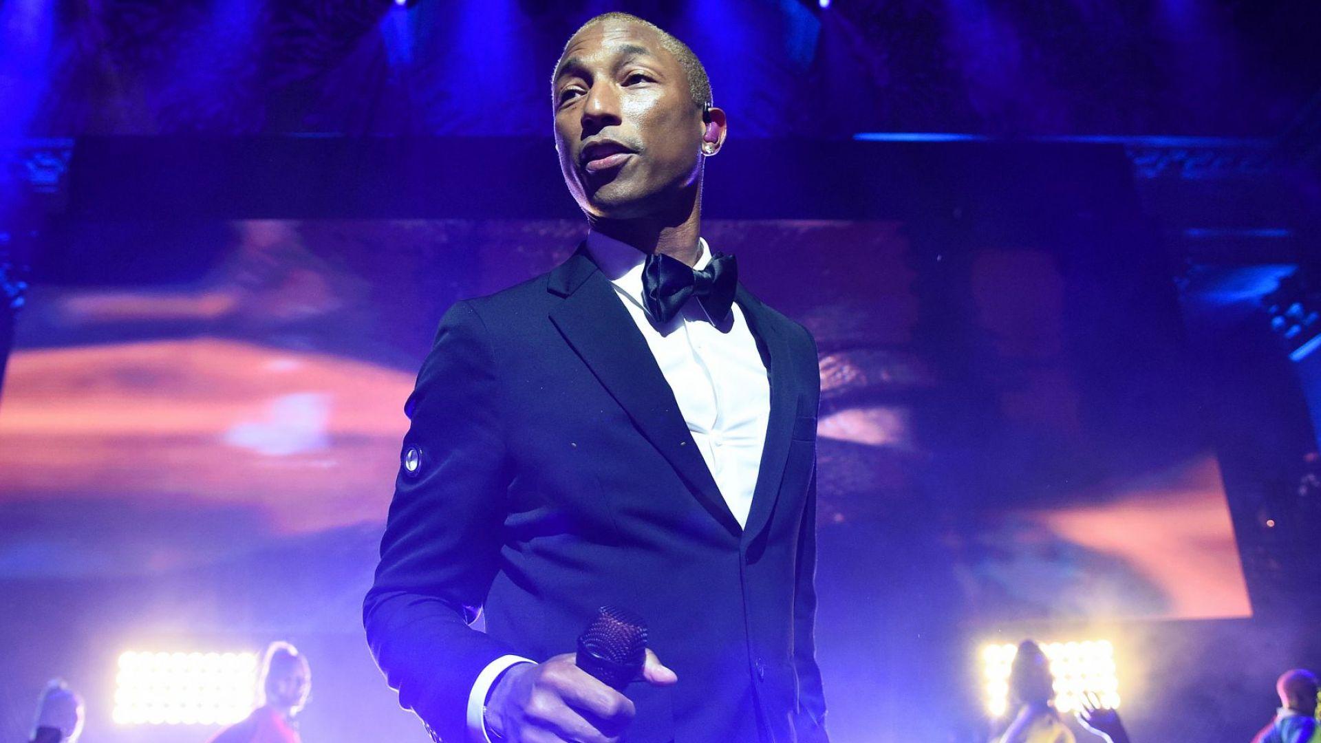 Фарел Уилямс оглави класацията за най-излъчвани песни във Великобритания през предишното десетилетие