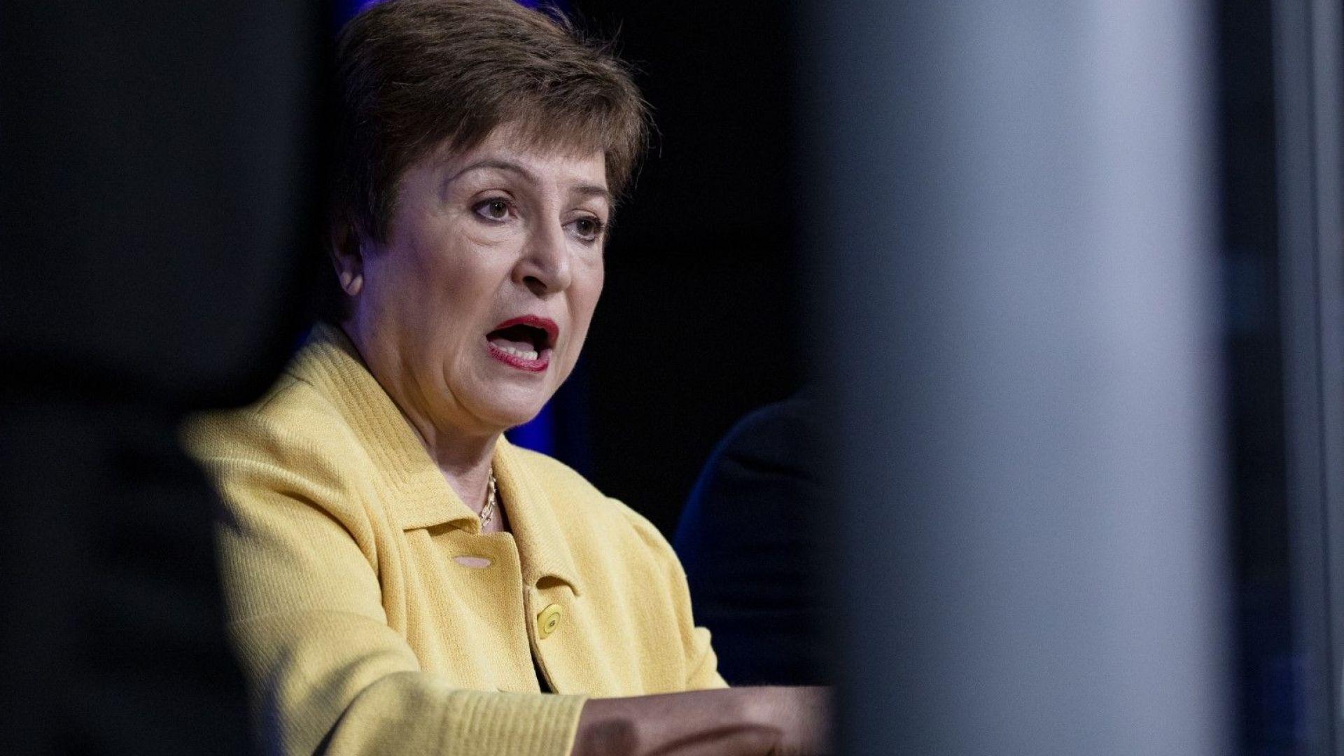 Кристалина Георгиева подкрепи плана на Байдън за спасяване на икономиката на САЩ