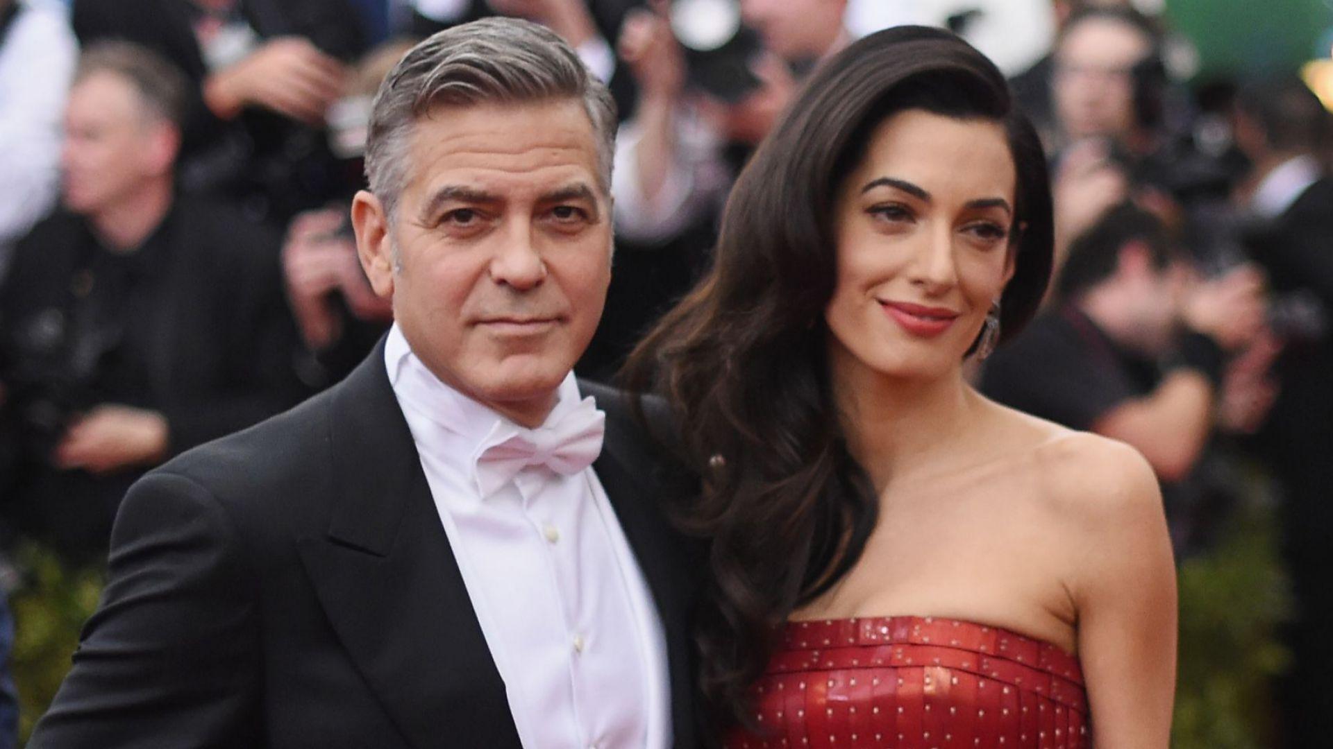 Джордж и Амал Клуни похарчиха 115 хил. долара за къща за игри на близнаците си (снимка)