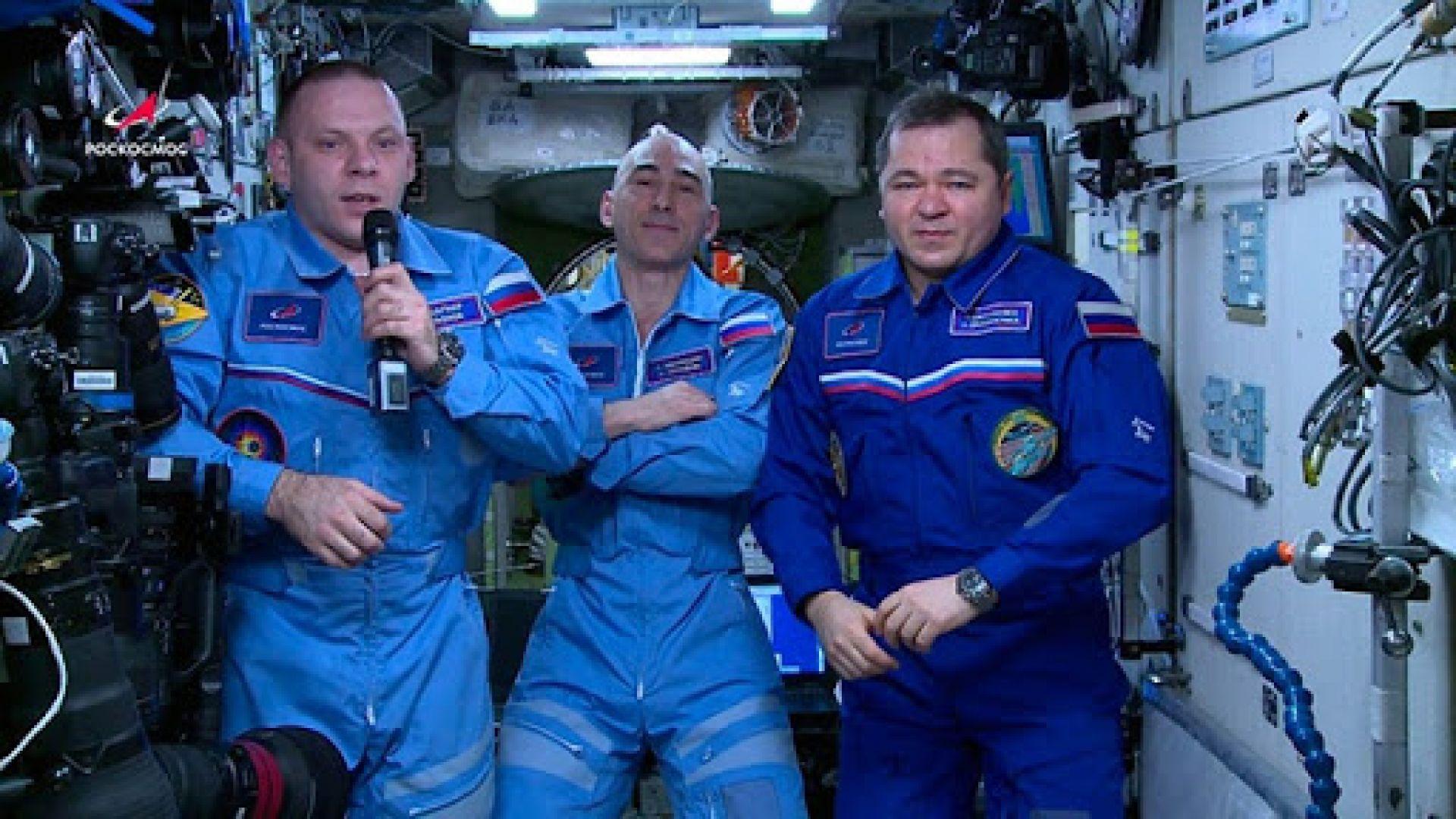 Космонавти от МКС призовават към спазване на карантината