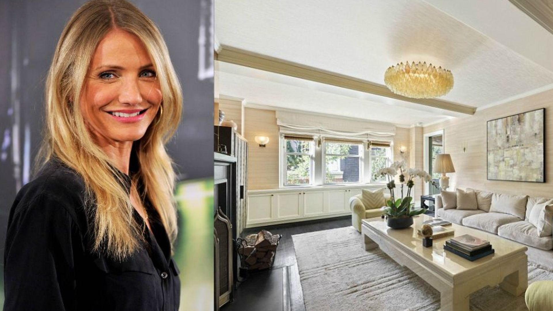 Вижте уютния апартамент на Камерън Диас в Ню Йорк, който актрисата продаде за $4 млн.