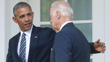 Обама подкрепи Байдън за президент на САЩ (видео)