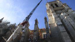 """Започва изсичането на вековни дървета за 96-метровия шпил на """"Нотр Дам"""""""