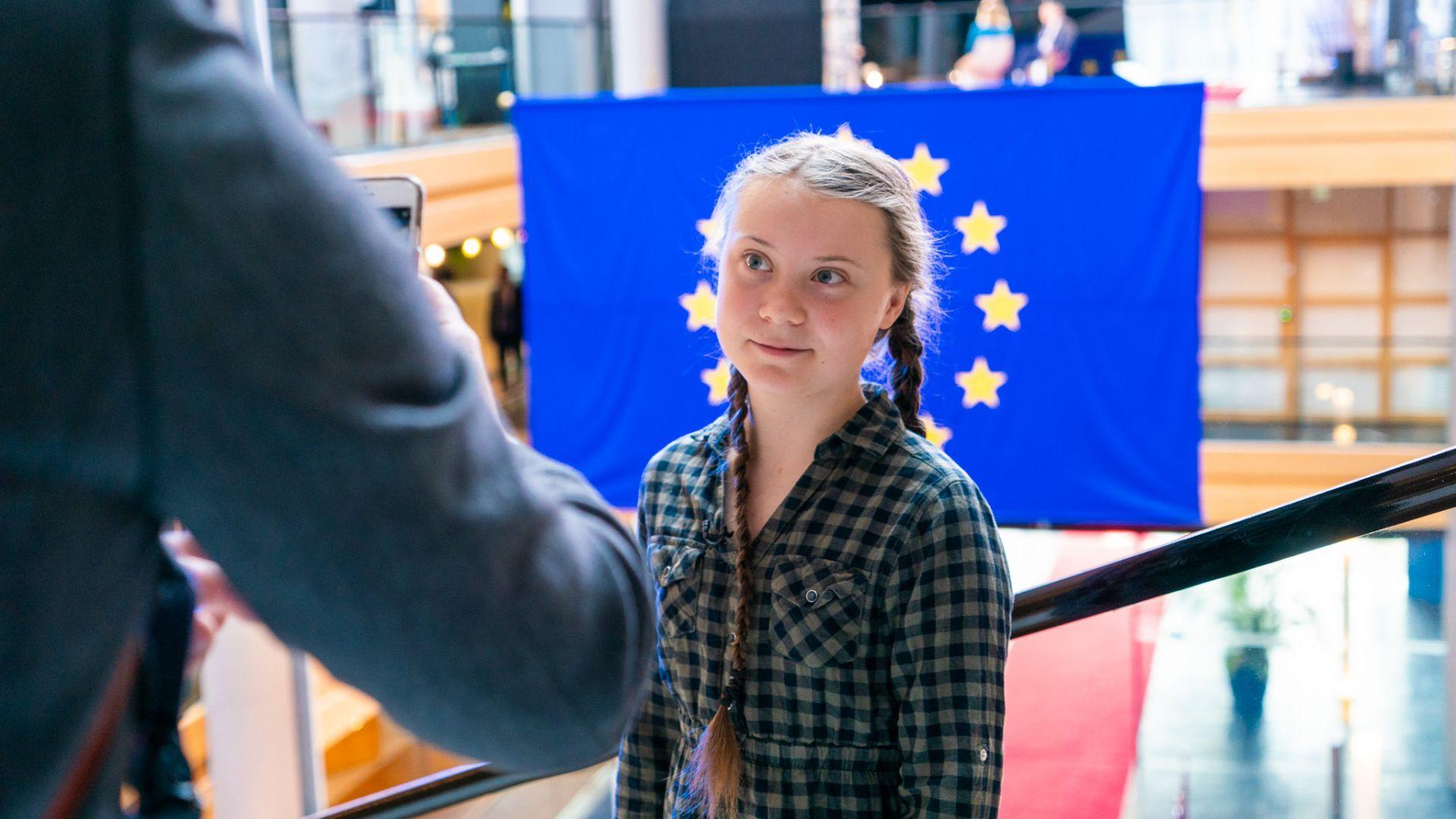 Грета Тунберг влезе в словесен сблъсък и с китайските държавни медии