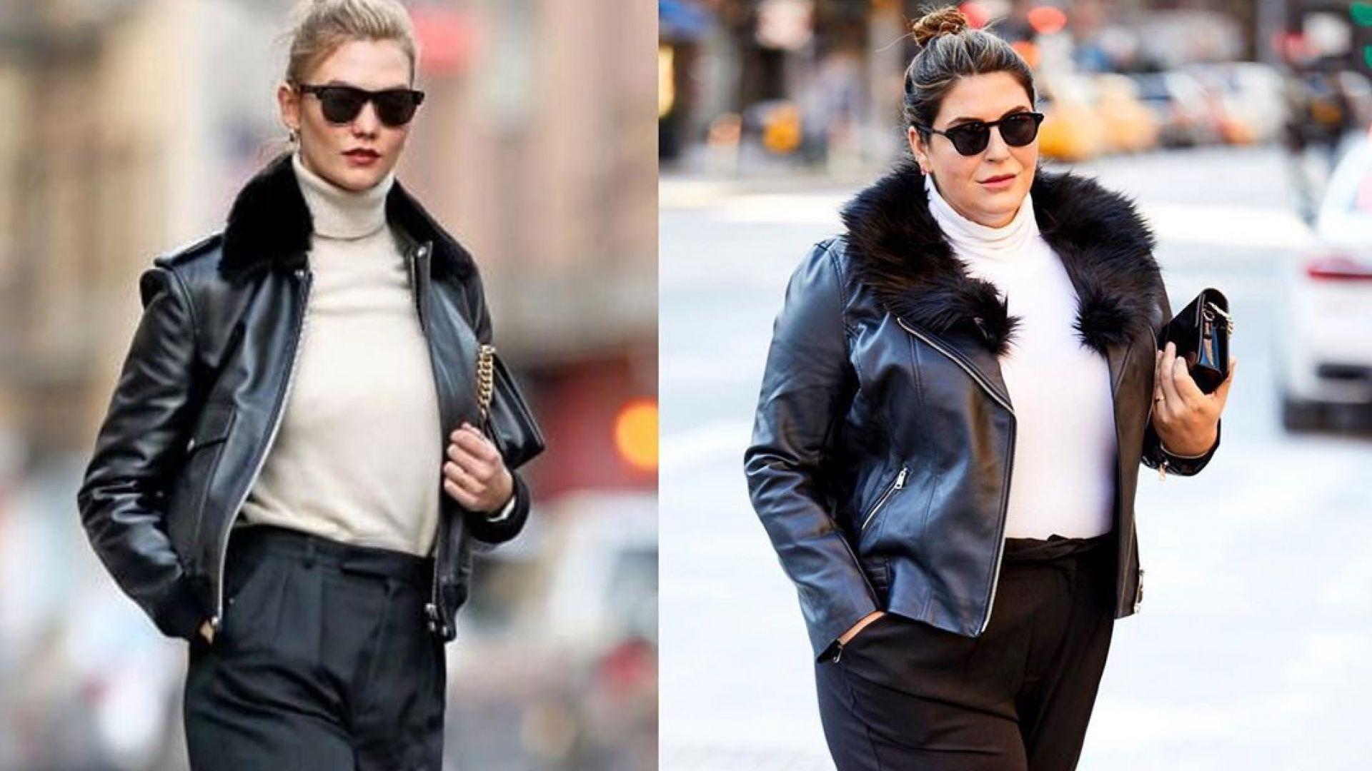 Като звездите: жената, която се облича със стил и доказва, че размерът няма значение