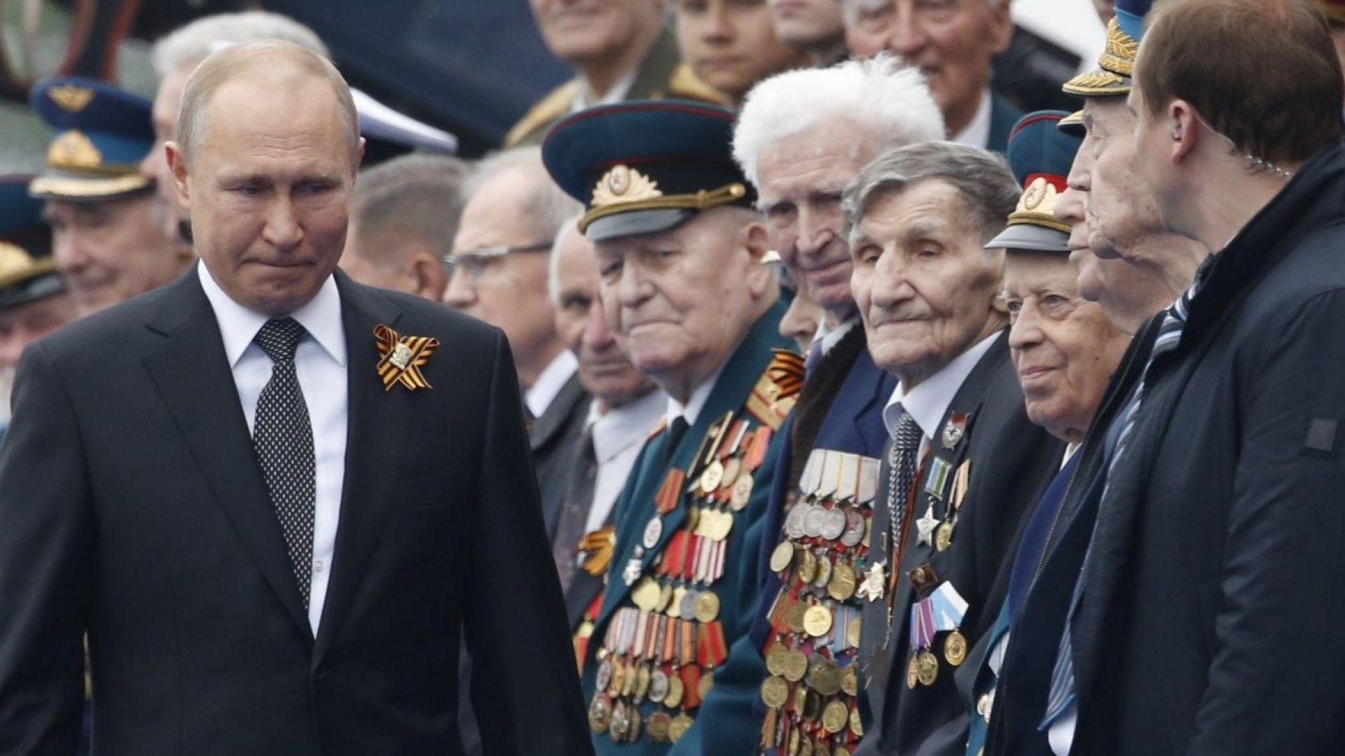Путин шокира историците с тезите си за Втората световна война