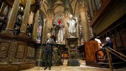 Андреа Бочели счупи рекорди с великденския си концерт в празната Миланска катедрала