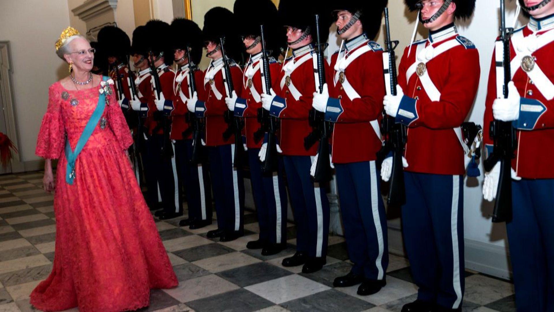 Кралица Маргрете Втора чества своята 80-годишнина