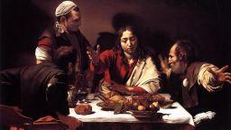 """Най-критикуваната картина на """"хулигана"""" Караваджо - """"Вечеря в Емаус"""""""