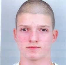 Георги Иванов като ученик, когато беше разследван за обири на бензиностанции