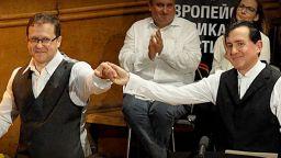 Във вихъра на втора част на аржентинското танго с Веско Пантелеев - Ешкенази и Людмил Ангелов