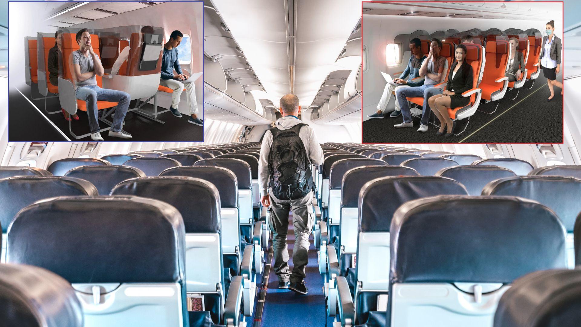 Пътническите самолети вече няма да са същите: Как ще изглеждат след пандемията