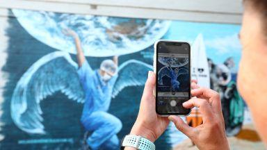 Изкуството в историческа битка:  Лекарите-ангели и посланията на графити артистите vs. коронавируса
