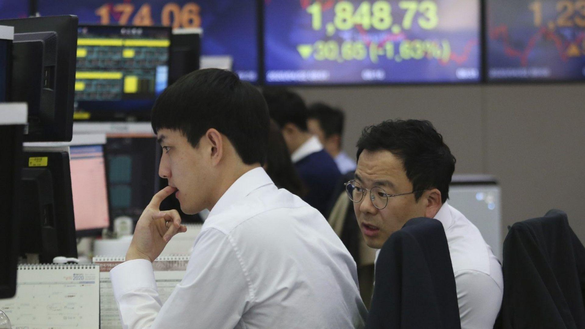 Южна Корея изпадна в рецесия