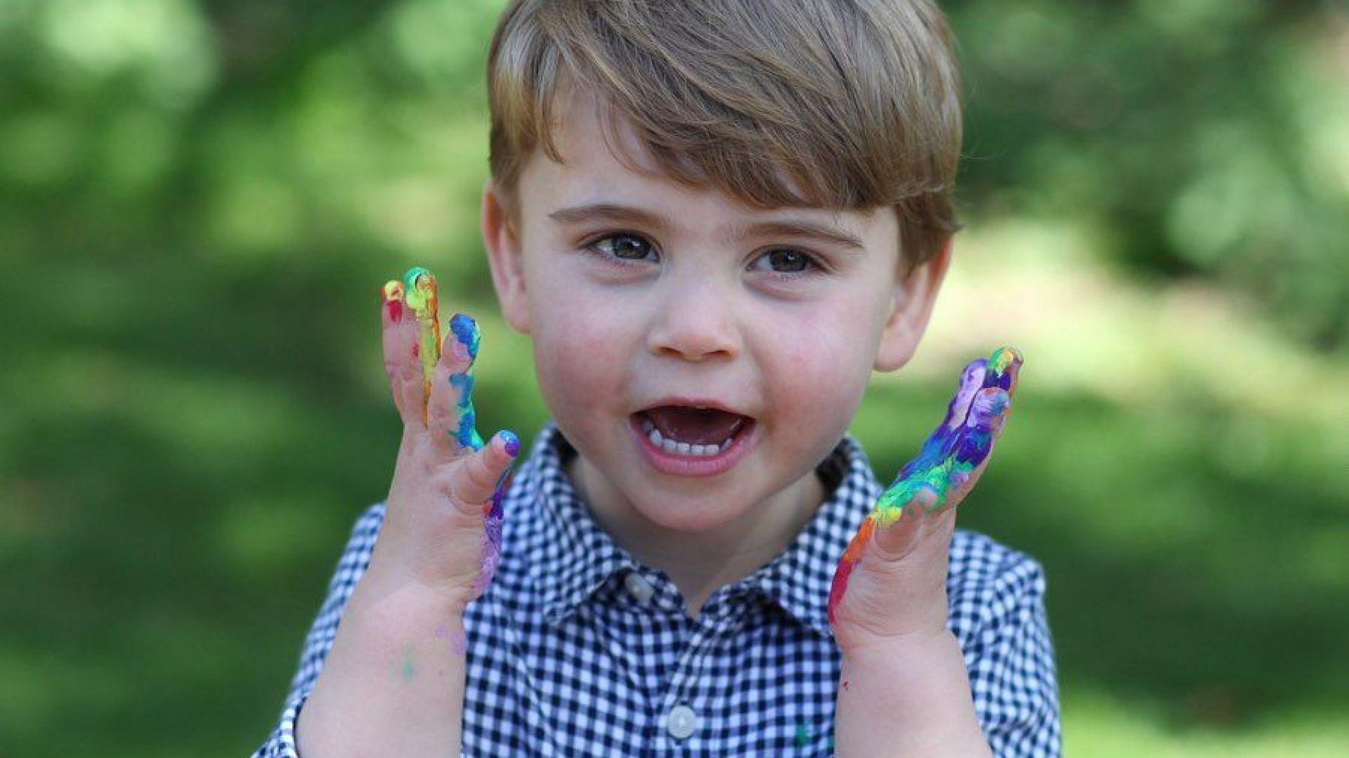 Кейт Мидълтън публикува нови снимки за втория рожден ден на принц Луи