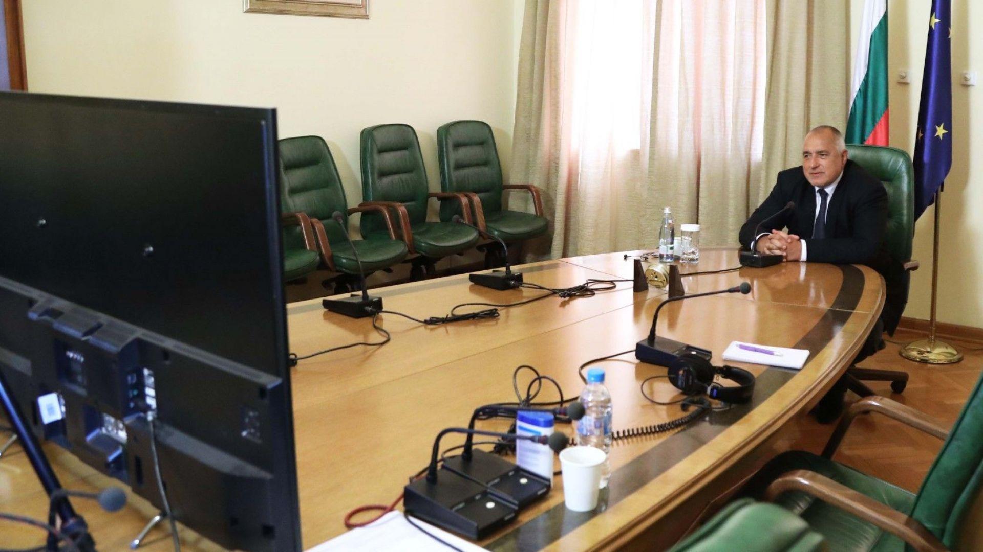 Започна участието на министър-председателя Бойко Борисов в заседанието на Европейския