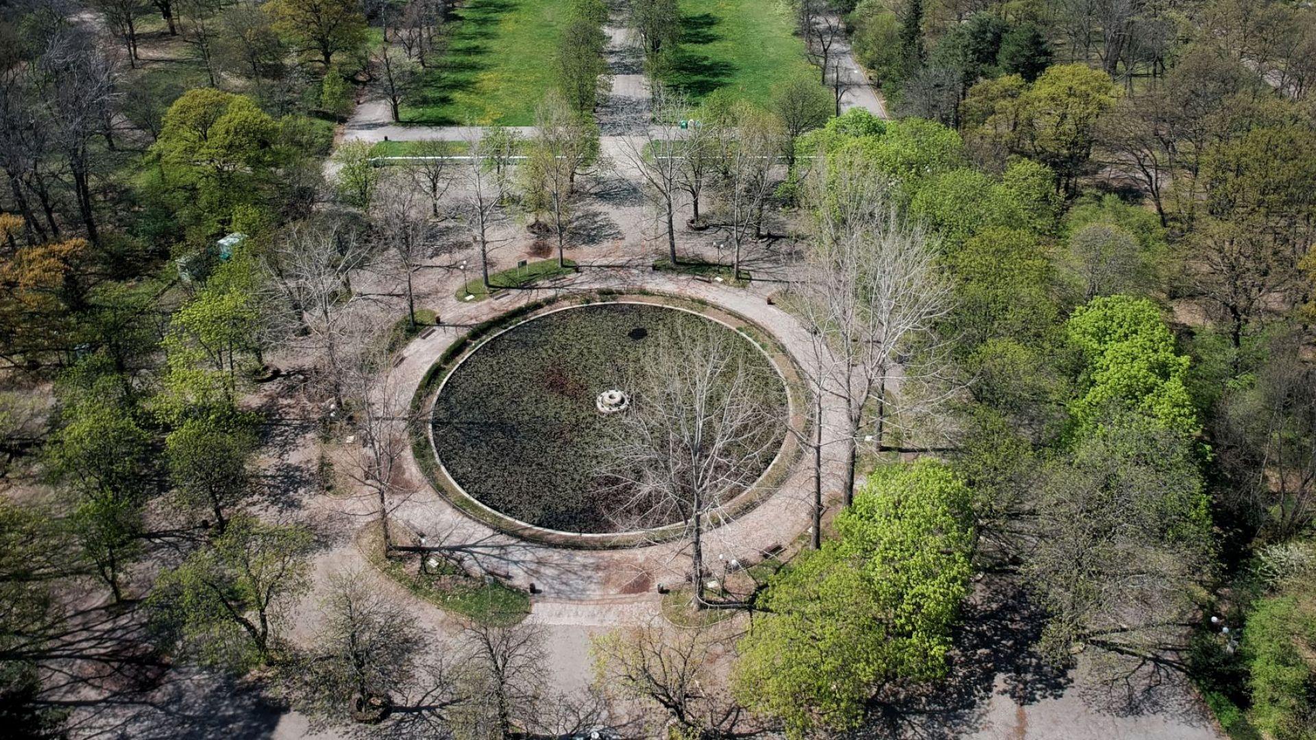 Ремонтират историческата част на Борисовата градина с 10 млн. лева