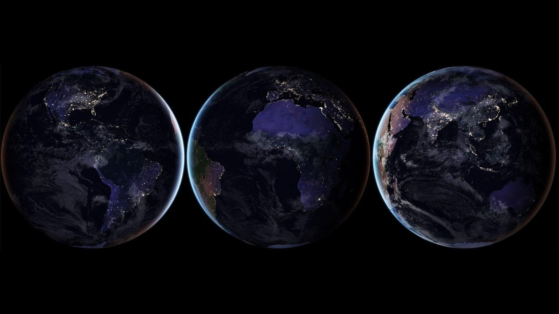 Най-добрите снимки на Земята през нощта (галерия)