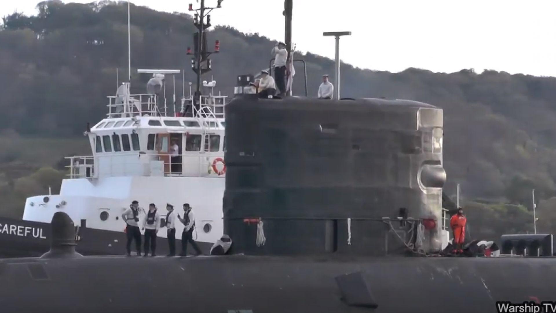 Разследват парти на борда на британска ядрена подводница по време на карантина (снимки)