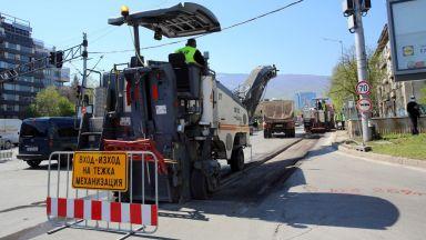 Летните ремонти в София: къде са затворени улици и булеварди