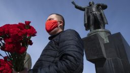 Има опасност от пик на заразени в Русия през майските празници