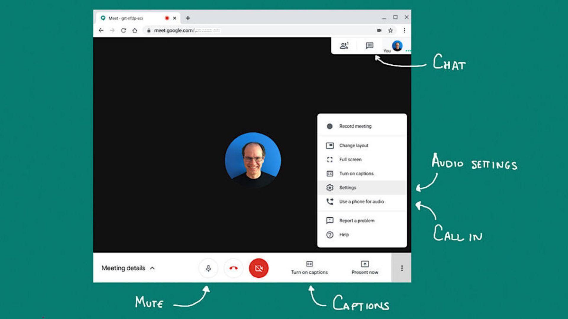Google интегрира Meet в Gmail