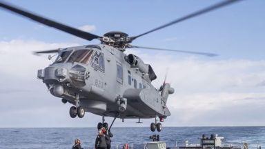 Откриха останките на канадския хеликоптер, който се разби при учение на НАТО