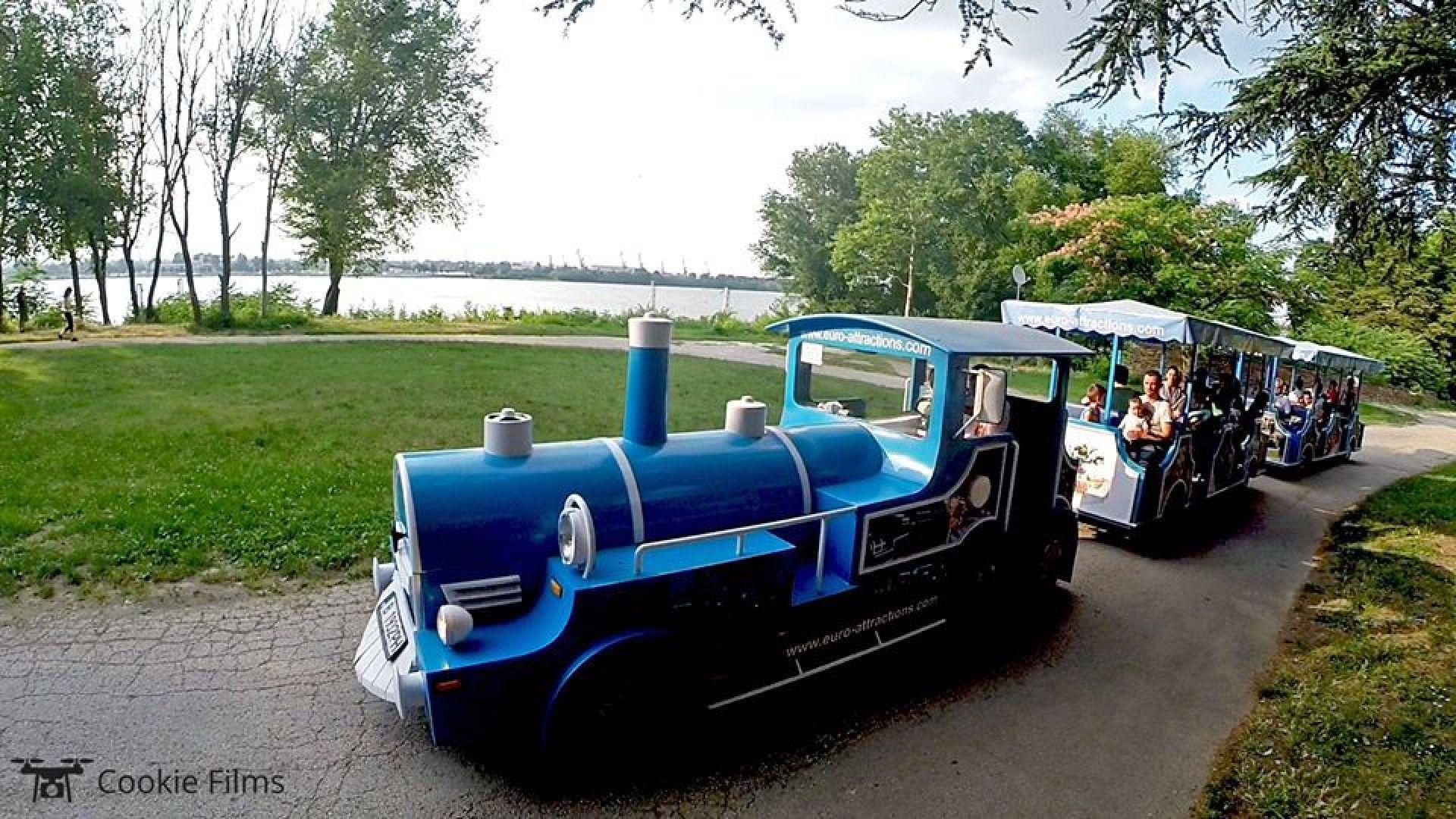 Водач на атракционно влакче в Парка на младежта в Русе