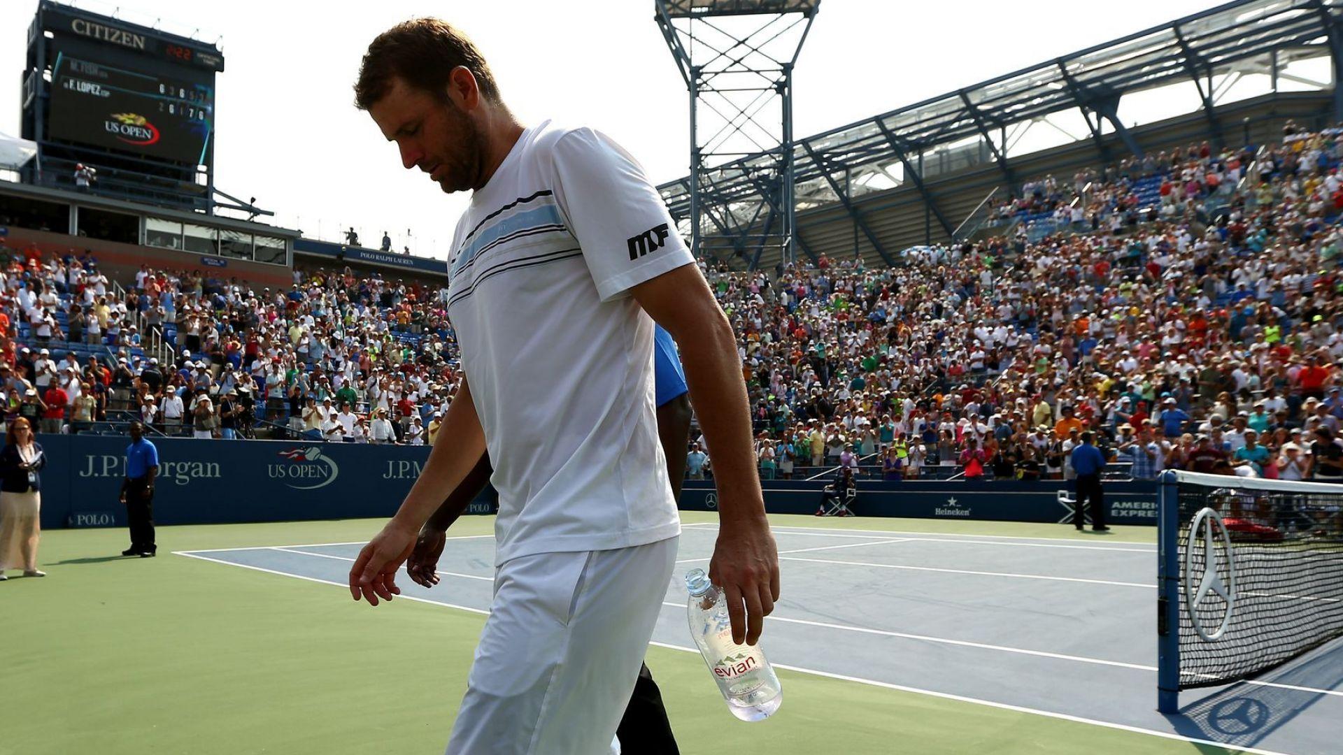 Невидимата драма на един елитен тенисист: Паник атаки, пристъпи и страх