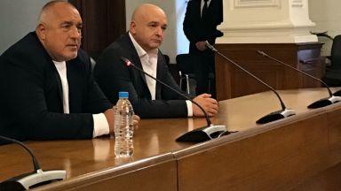Борисов излезе рамо до рамо с Мутафчийски и обяви: Щабът не е разформирован