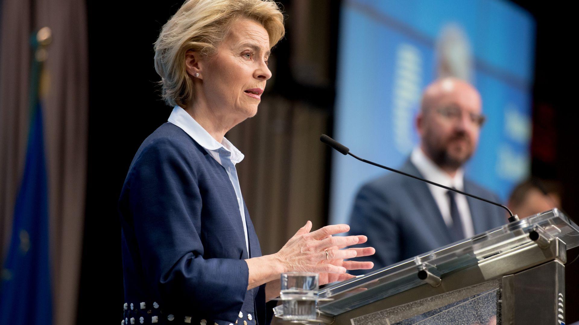Финансов инструмент за 750 млрд. евро обяви ЕК за справяне с кризата