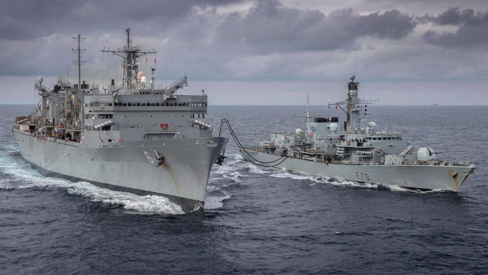 US бойни кораби навлязоха в Баренцово море за първи път от разпада на СССР