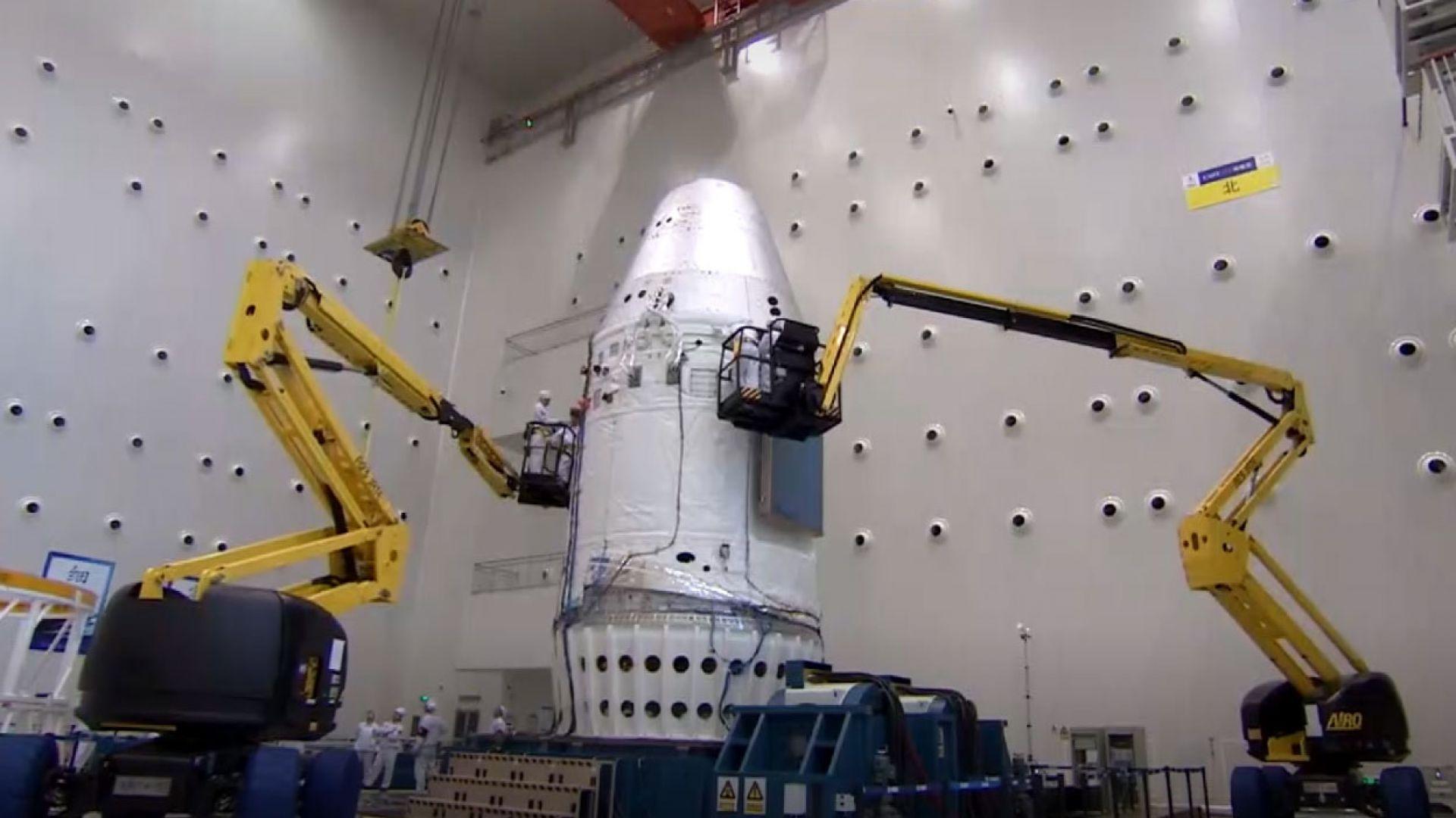 Китай отбеляза успех с новия си космически кораб