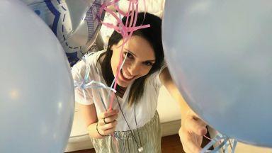 Бременната Луиза Григорова разкри пола на бебето си