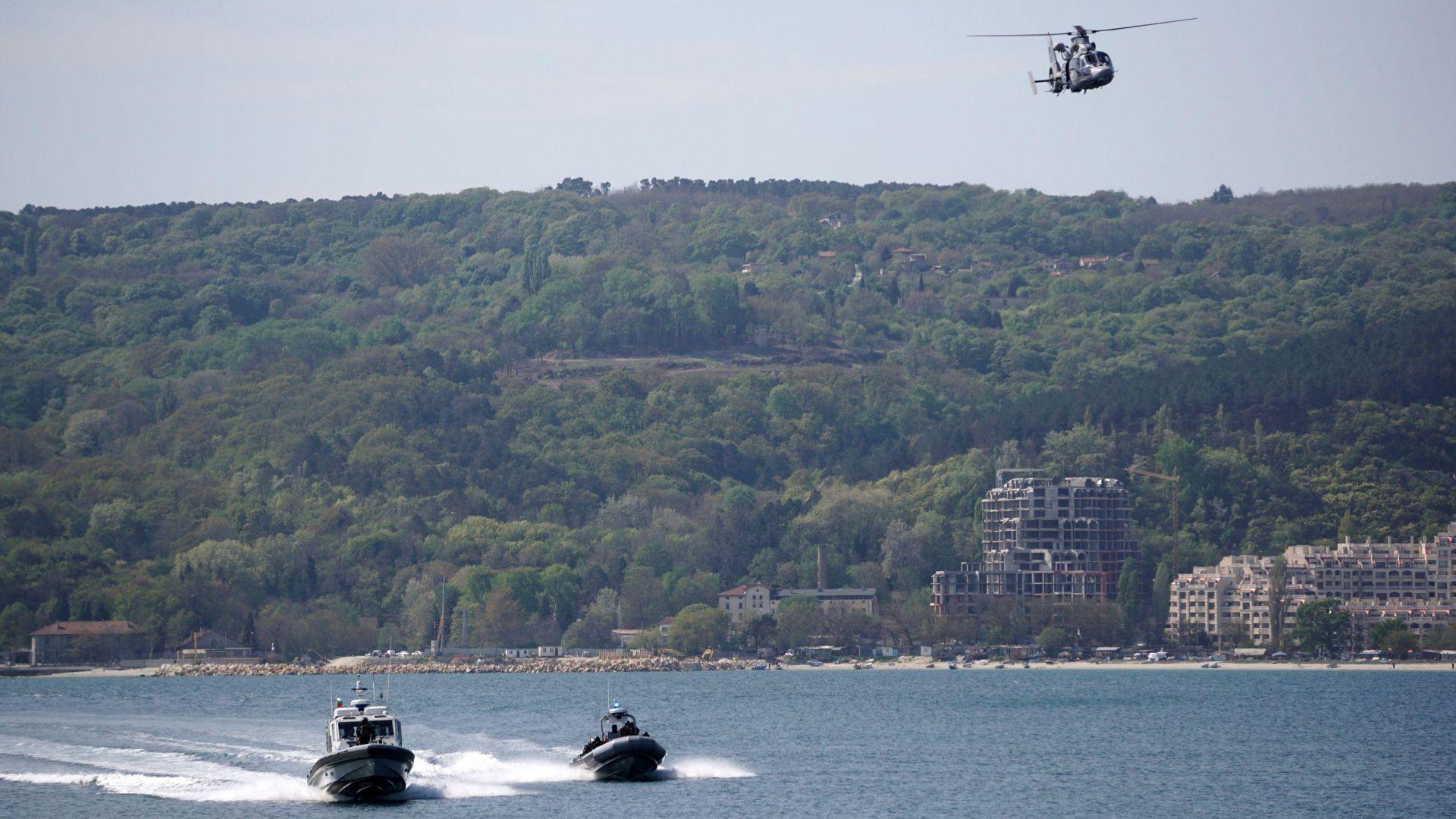 Годишното тактическо учение на Флотилията бойни и спомагателни кораби