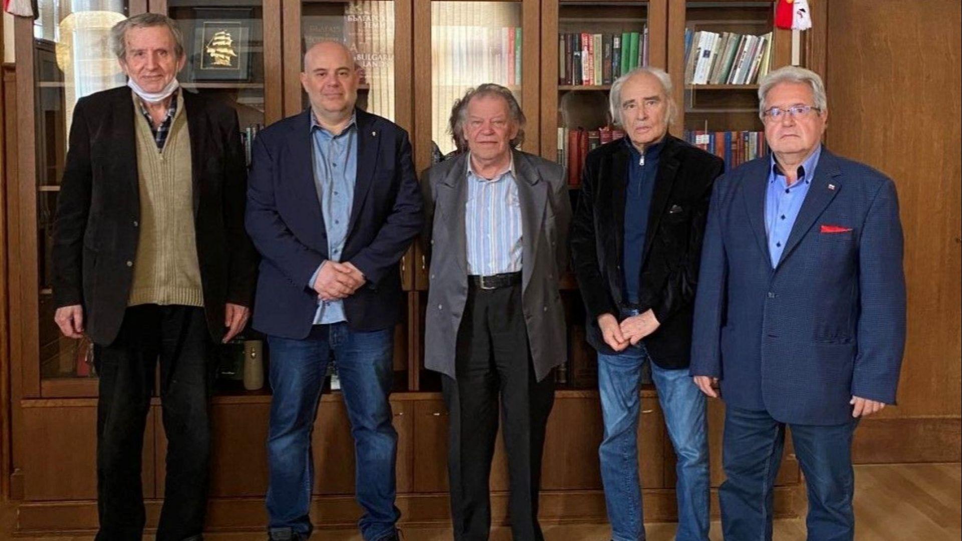 Иван Гешев се срещна с представители на българската академична общност
