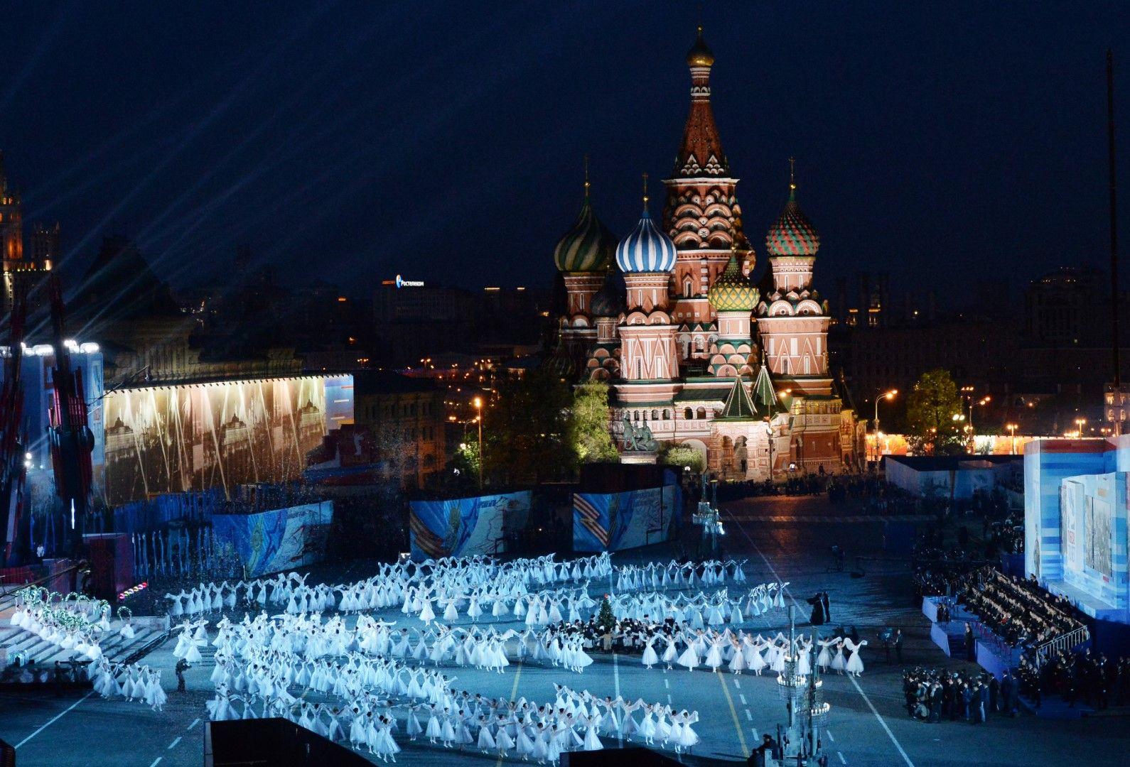 Тържествата на Червения площад в Москва по случай 70-годишнината от победата във Втората световна война, 9 май 2015 г.