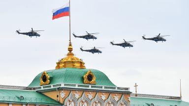 Денят на победата: Как премина въздушният парад над Москва (видео)
