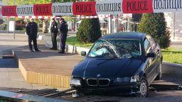 Криминално проявени катастрофираха след гонка с полицията в Бургас