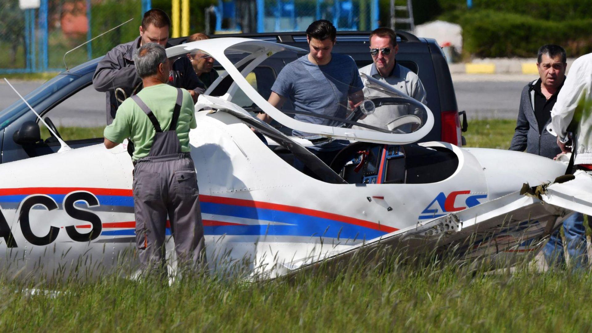 Разследват две версии за авиокатастрофата с Ивайло Пенчев