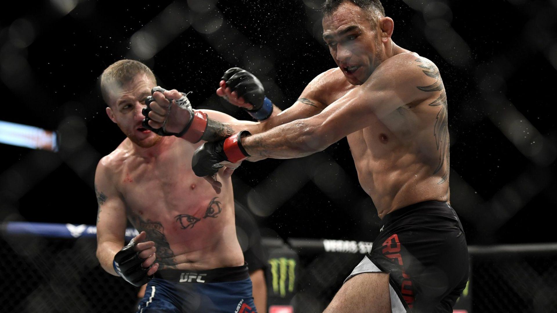 Гейджи изненадващо размаза Фъргюсън на UFC 249